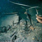 Több száz felbontatlan palackot találtak egy 19. századi elsüllyedt hajón
